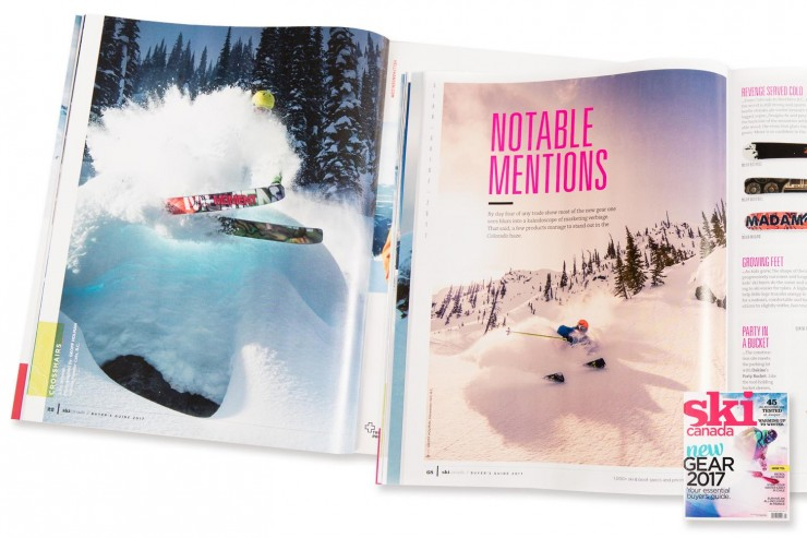 Catskiing Canada Featured in Ski Canada Magazine!