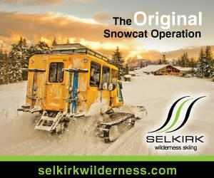 Selkirk Wilderness Skiing Catkiing and Boarding