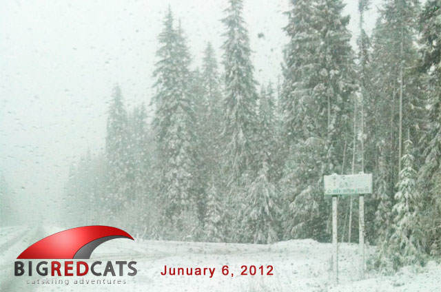 Early Bird Cat Skiing Specials from Big Red Cats