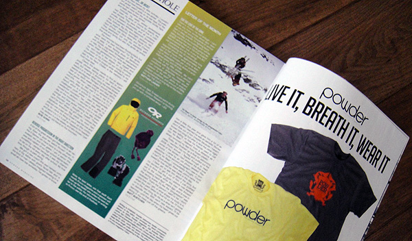 Powder Magazinei Letter of the Month