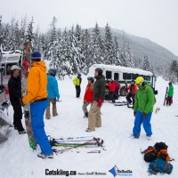 Staging Area at Valhalla Powdercats