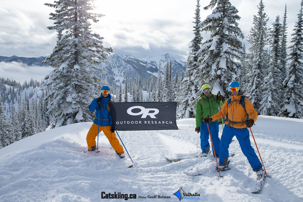 Outdoor Research Powering - Catskiing Canada