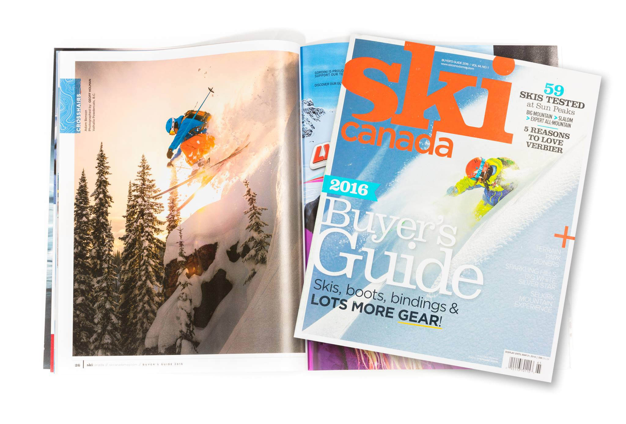 Catskiing Canada featured in the Ski Canada Buyers Guide Gallery