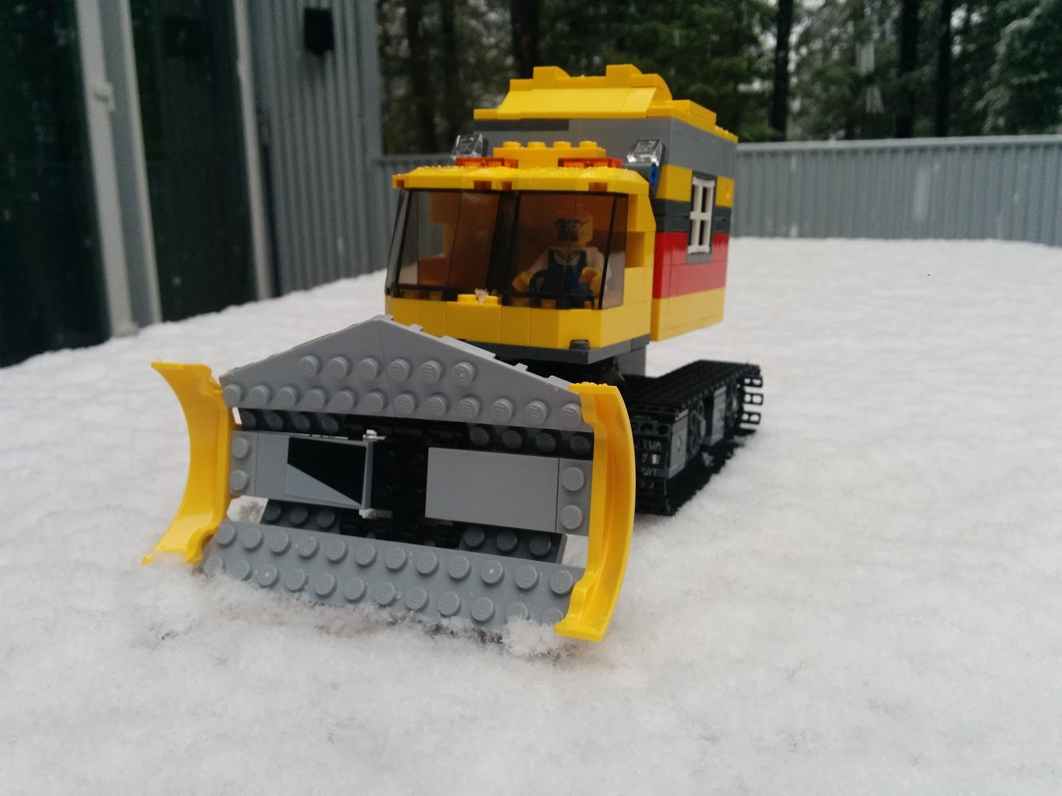 Never too old! Check out this Lego Snowcat