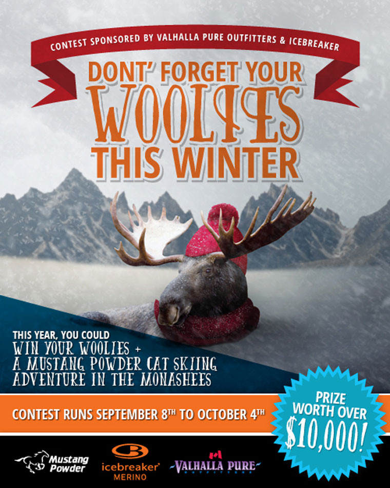WIN a 4 Day Mustang Powder Cat Skiing Adventure for 2