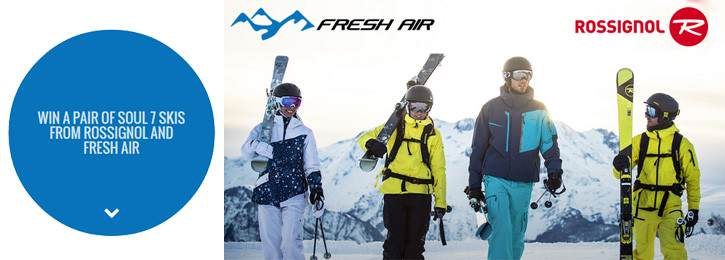 WIN a Pair of Rossignol Soul 7's from our Friends at Fresh Air